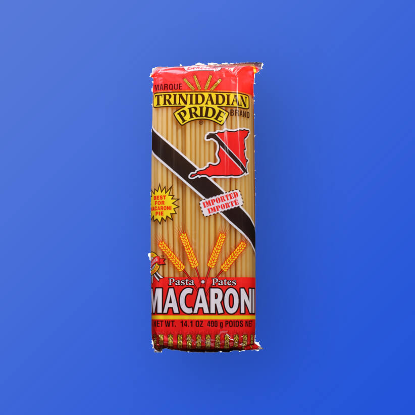 trinidadian pride pasta